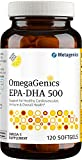 Metagenics OmegaGenics® EPA-DHA 500 – Omega-3 Oil – Daily Supplement to Support Cardiovascular Health, 120 count