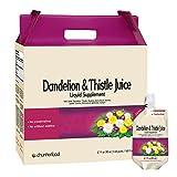 Chunho Food Dandelion & Thistle Juice Liquid Supplement. Helps Improve Liver Health, Enhance...