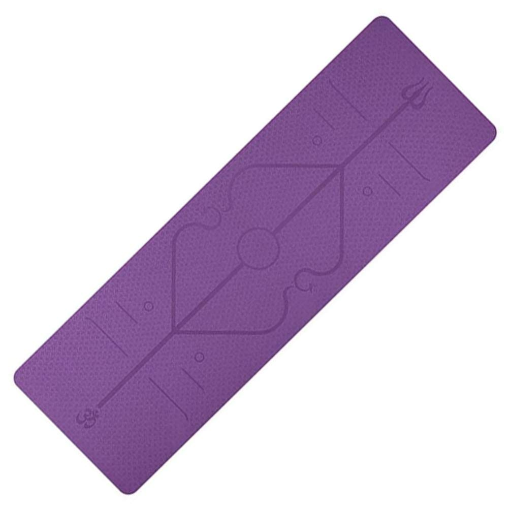 zuoshini Exercise Mat Yoga TPE A surprise price is realized M Pilates 18306106mm Free Shipping Cheap Bargain Gift