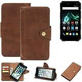 K-S-Trade® Handy Hülle Für Archos 50 Saphir Schutzhülle