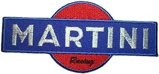 MARTINI RACING Porsche Vintage Team Polo Blue Logo CM08 Patches