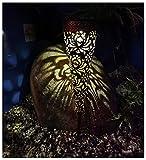 ZHMIAO Antorcha solar con forma de cono, iluminación impermeable para patios, fiestas, paisajes, decoración