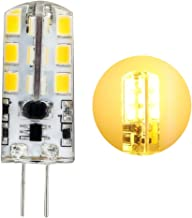 1 stuk G4 LED 3W lamp 24 x 2835 chip gelijkmatige verlichting super mini Ø 11,9 * 37mm AC/DC 12V 3000K warm wit 300LM Verv...