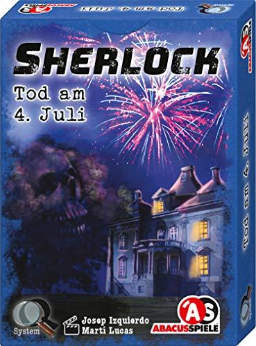 ABACUSSPIELE 48192 Sherlock - Juego de Cartas (en alemán)