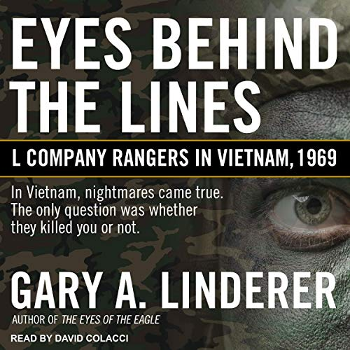 Eyes Behind the Lines audiobook cover art