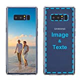 MXCUSTOM Coque Personnalisée Samsung Galaxy Note 8, Personnalisable avec Votre Propre Photo Image...