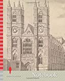 Notebook: Westminster Abbey, Samuel Wale RA, 1721-1786, British, undated, Gray wash with pen and black ink on medium, smooth, cream wove paper