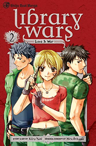 LIBRARY WARS LOVE & WAR GN VOL 02