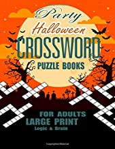Best halloween crossword puzzles for adults Reviews