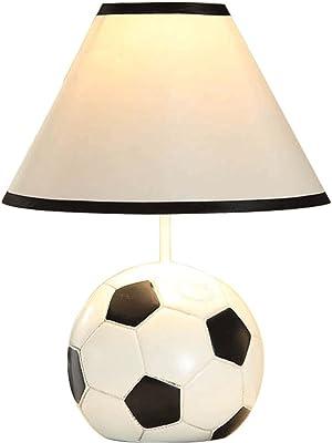 Lámpara de mesa lámpara de escritorio salón dormit Lámpara de mesa Niño de dibujos animados fútbol moderno minimalista creativo hijo con la protección de ojo dormitorio lámpara de cabecera lámpara de escritorio