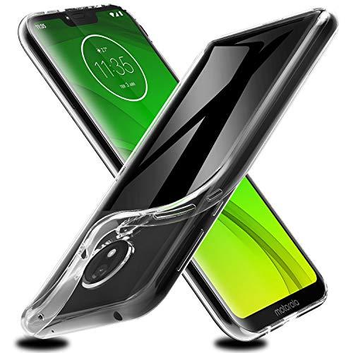 VGUARD Hülle Hülle Kompatibel für Motorola Moto G7 Power, Premium Transparent Klare Tasche Schutzhülle Weiche TPU Silikon Gel Handyhülle Schmaler Cover für Motorola Moto G7 Power
