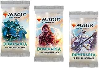 3 (Three) Packs - Magic: the Gathering - MTG: Dominaria Booster Packs (3 Pack Draft Lot)