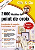 2000 modèles de point de croix