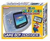 Gameboy Advance Konsole Clear Blue inkl. Super Mario Advance 2 -
