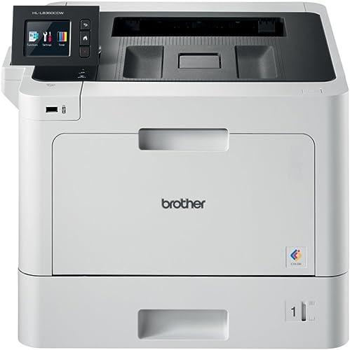 Brother HLL8360CDWG1 Imprimante Laser avec Duplex W-LAN A4 Blanc/Noir