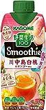 カゴメ 野菜生活スムージー川中島白桃&マンゴーMix330ml ×12本