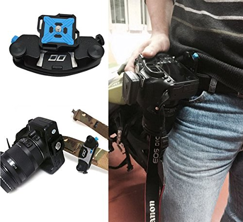 deekec Captura Cámara Clip, clip de cinturón de cintura Universal ...