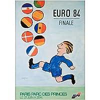 EURO 84(ユーロ'84)-レイモン・サヴィニャック(ポスター特A2サイズ 額無し)