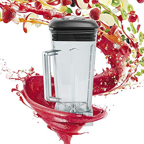 Blender Square Container Jar Jug Cup Commercial Blender Spare Parts with Blades Lid 60oz 2L Best