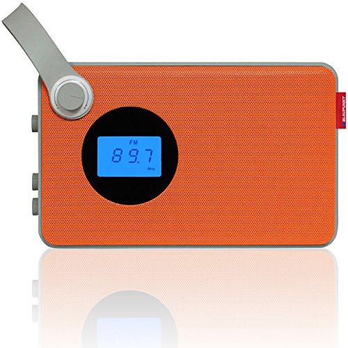 Blaupunkt Radio RX 25 | UKW PLL Design Radio | USB-Anschluss | SD-Karten Slot | AUX IN | austauschbarer Akku | MP3 Wiedergabe | 2 Watt RMS | LCD Display