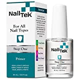 Nail Tek - Step One Primer - Ideal para Todo Tipo de...