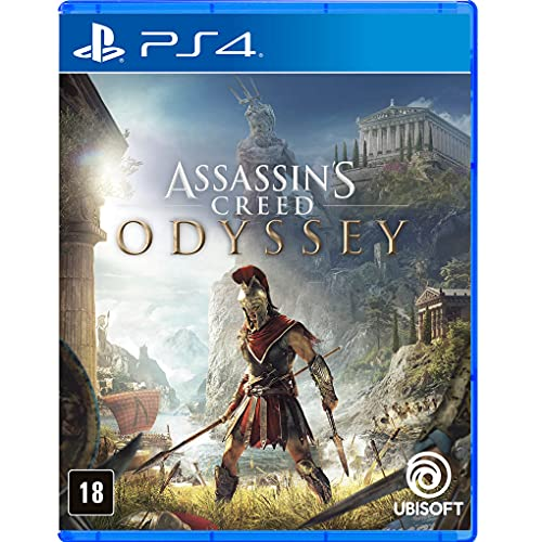 Assassin'S Creed Odyssey-Padrão- Playstation 4