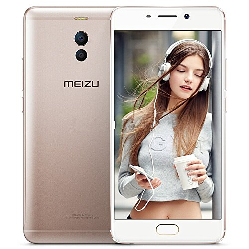 "Meizu M6Note - Smartphone de 5.5"" (Snapdragon Octacore RAM de 3 GB, Memoria Interna de 3 GB, cámara de 12 MP, Android) Color Dorado"