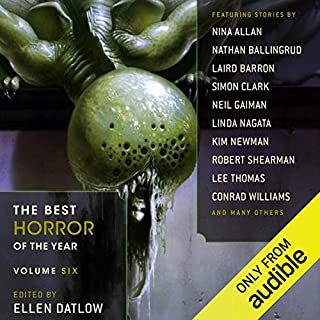 The Best Horror of the Year, Volume Six audiobook cover art