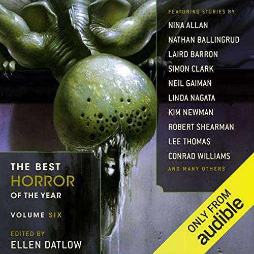 Couverture de The Best Horror of the Year, Volume Six