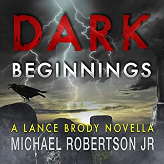 Dark Beginnings audiobook cover art