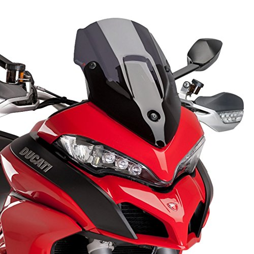 Racingscheibe für Ducati Multistrada 1260 S/D-Air 18-19 dunkel getönt Puig 7622f