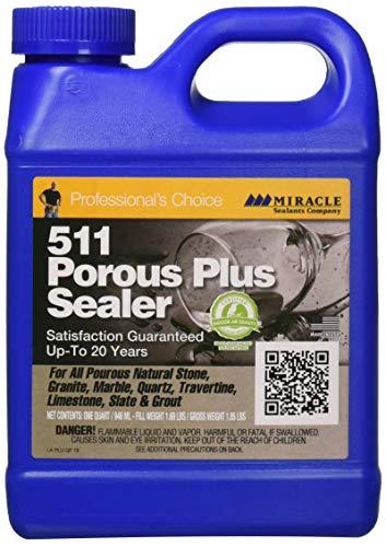 Miracle Sealants PLUS QT 511 Porous Plus Sealer 32 oz Quart
