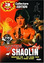 Masters of Shaolin: (Breathing Fire / The Young Tiger / Snake & Crane Secret)