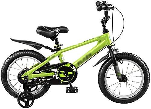Kinderfürr r YANFEI Kinder fürrad Kinderwagen 12 14 16 18 Zoll Mountainbike Blau Silber Grün Umweltschutz Materialien Mode Sicherheit Kindergeschenk