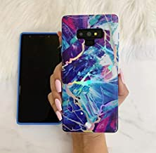 CASES A LA MODE Majestic Holo Rainbow Marble Phone Case for Samsung Galaxy Note 9