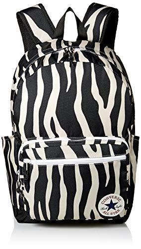 Converse Unisex-Erwachsene Go 2 Backpack Rucksack, Schwarz/Weiß, Einheitsgröße