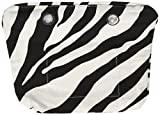 O bag Sacca Mini, Borsa a Mano Donna, Multicolore (Zebra), 29x25x9 cm (W x H x L)