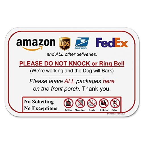 Leave Package Sign