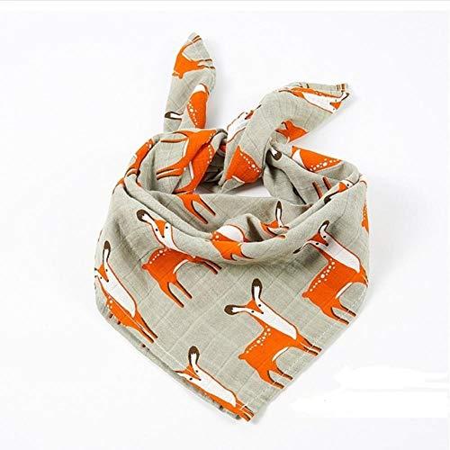 WWWLD Baby Badetuch Musselin Gaze Baumwolltücher Taschentuch Für Neugeborene Lätzchen Kinder Füttern Rülpsen Schal Gesicht Waschlappen WaschmittelG.