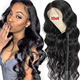 13x4 Body Wave Lace Front Wigs Human Hair Pre...