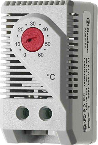 Finder Termostato 1ö-5A, 1Pieza, 7t.91.0.000.2403