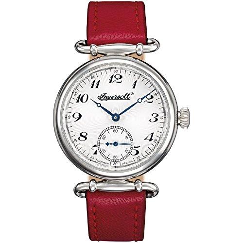 Ingersoll Damen Analog Automatik Uhr mit Leder Armband IN1320SL
