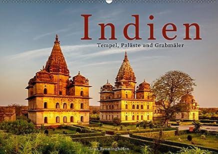 Indien: Tempel, Paläste und Grabmäler (Wandkalender 2019 DIN A2 quer): Indiens spektakulärste Baudenkmäler (Monatskalender, 14 Seiten ) (CALVENDO Orte)