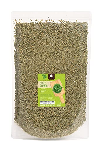 Gourmanity 8 oz Dried Chives, Chopped Chives, Chives Seasoning, Fresh Chives Herb Substitute, Chives Dried, Gluten Free, Allergen Free, Non-GMO, Kosher