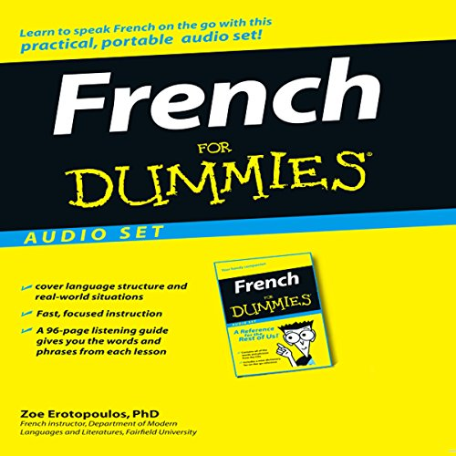 French For Dummies audiobook cover art