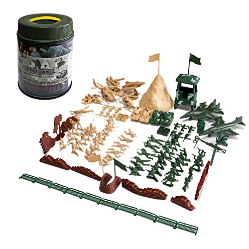 Hautton Juegos Militares de Figuras (107 Piezas), Ejército