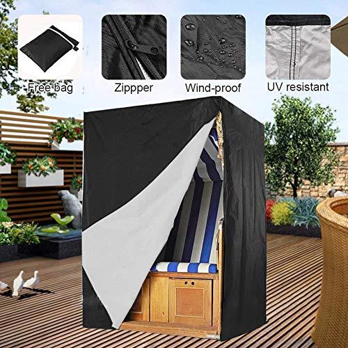 BCGT Patio extérieur Balancez Couvertures, imperméable et protection contre les intempéries Porche Balancez Couvertures Canopy, Couvertures Swing légers for meubles (Size : 155x170x105cm)