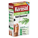 Kerasal Renewal Nail Repair Solution with Tea Tree Oil for Discolored and Damaged Nails, 3.96 Oz, Pack of 12
