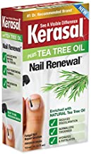 Kerasal Renewal Nail Repair Solution with Tea Tree Oil for Discolored and Damaged Nails, 0.33 Oz
