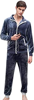 Men's Pajamas Autumn Winter Long Sleeve Warm Thick Pajama Classic Set Fashion Casual Comfortable Soft Fluffy Pajamas Pajam...